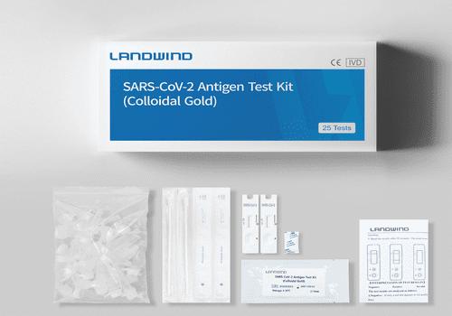 Експрес-тести на антигени (коронавірус) Landwind
